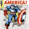 """Image 2 : Marvel Comics, """"Captain America #109"""" Numbered Limited Edition Canvas by Jack Kirby (1917-1994) with"""
