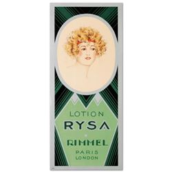 RE Society,  Rimmel-Lotion Rysa  Hand Pulled Lithograph. Includes Letter of Authenticity.