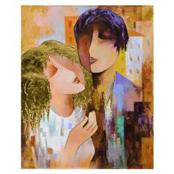 Arbe,  Honeymoon  Limited Edition on Canvas with Gold Embellishing, Numbered and Hand Signed with Ce