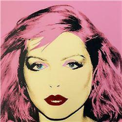 "Andy Warhol- Screenprint in colors ""Debbie Harry Red 1980"""