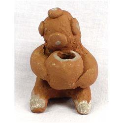 Vintage Cochiti Pottery Mudhead Storyteller
