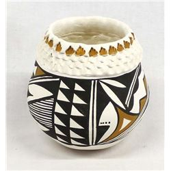 Acoma Pottery Bowl by Norma Jean Ortiz