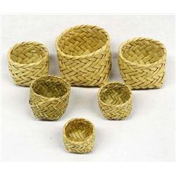 Copper Canyon Tarahumara Graduated Baskets