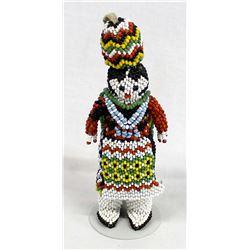 Zuni Fully Beaded Olla Maiden Doll