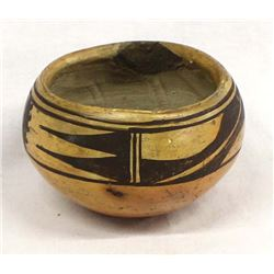Historic Native American Hopi Pottery Bowl