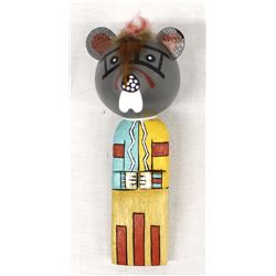 Native American Hopi Kachina Mouse Rattle