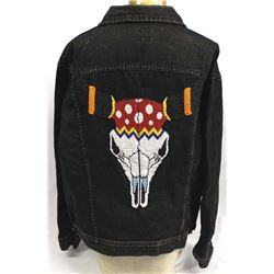 Lee Black Denim Beaded Jacket