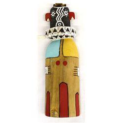 Hopi ''Ho Hoo Mana'' Flat Kachina by Shirley Honie