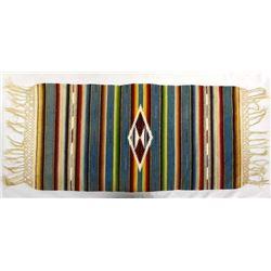 Antique/Vintage Mexican Saltillo Wool Textile