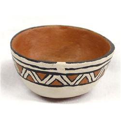 Historic Cochiti Pottery Bowl by Marianita Venado