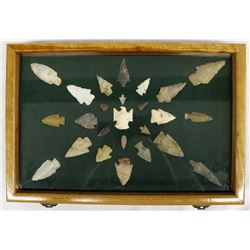 Prehistoric Native American Stone Arrowheads