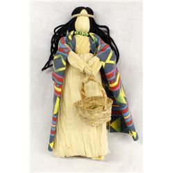 St. Regis Mohawk Cornhusk Doll
