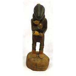 Hopi Squash Man Kachina by Ray Sumatzkuku