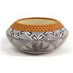 Laguna Ceramic Pottery Bowl by J. Cheromiah
