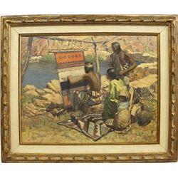 Indian Weaver Print by Robert Wesley Amick