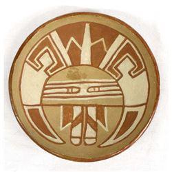 Historic San Juan Pottery Shallow Bowl