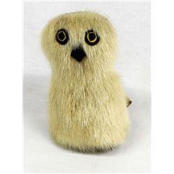 Vintage Canadian Eskimo Seal and Caribou Fur Owl