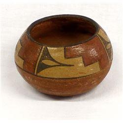 Historic Native American Zia Pottery Bowl