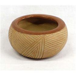 San Juan Pottery Bowl by Dominguita Sisneros