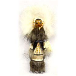 Vintage Kamchatka Caribou & Seal Fur Doll