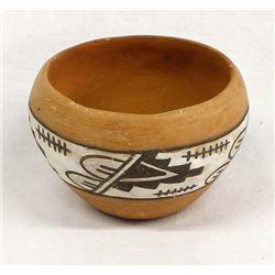 Historic Jemez Pottery Bowl by Jose Rey Toledo