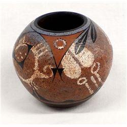 Zia Pottery Jar by Ralph Aragon