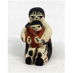 Miniature Jemez Pueblo Pottery Storyteller