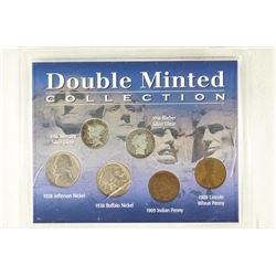DOUBLE MINTED COLLECTION CONTAINS: 1909