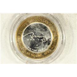 CASINO $10 SILVER TOKEN (UNC) MIRAGE (JAPONAIS