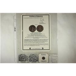 379-395 A.D. THEODOSIUS I ANCIENT COIN (FINE)