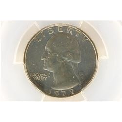 1979 WASHINGTON QUARTER PCGS MS64