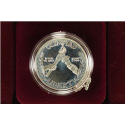 1988 US OLYMPIC PROOF SILVER DOLLAR
