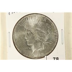 1922 PEACE SILVER DOLLAR BRILLIANT UNC