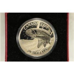 2015 CANADA $20 FINE SILVER COIN NORTH AMERICAN