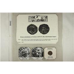 271-274 A.D. TETRICUS I ANCIENT COIN (FINE) WITH