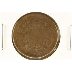 1866 US TWO CENT PIECE