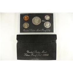 1992 US SILVER PROOF SET (WITH BOX)