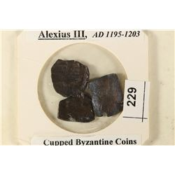 3-1195-1203 A.D. ALEXIUS III CUPPED BYZANTINE