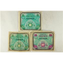 SERIES 1944 FRANCE MILITARY PAYMENT CERTIFICATES