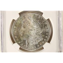 1881-S MORGAN SILVER DOLLAR NGC MS65 OLATHE $