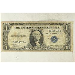 1935-A $1 SILVER CERTIFICATE STAR NOTE