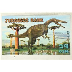 2015 JURASSIC BANK 29 DIN ''SUCHOMIMUS'' COLORIZED