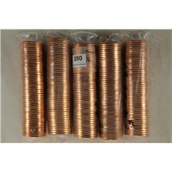 5-50 CENT ROLLS OF 2009-D BIRTH & EARLY CHILDHOOD