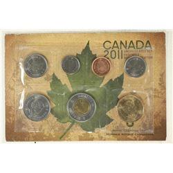 2011 CANADA UNC SET, ORIGINAL ROYAL CANADIAN MINT
