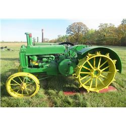 JD A All Steel Tractor 540 PTO - Restored at Some Time S#257701