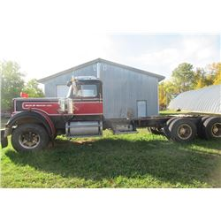 1977 Western Star Mdl 9464-2 w 10 Spd Fuller Trans Showing 67,798 MIles, COMES W TOD