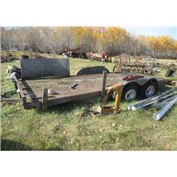 92 PJ BH 16' Tandem Flat Deck - COMES W TOD