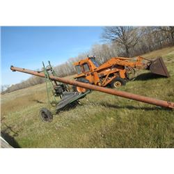 "Scoop a Second 6"" 28' Auger w B & S Engine"