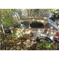 78 Honda Civic & Extra Body Parts - NO TOD