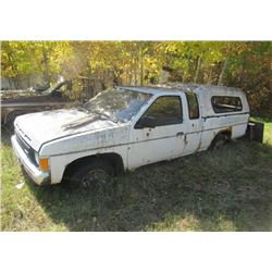 2) 88 Nissan King Cab - NO TODS